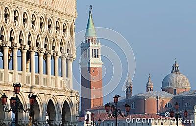Doge Palace and San Giorgio Maggiore