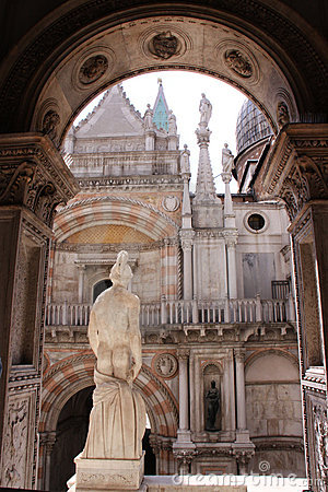 The Doge s Palace in Venice