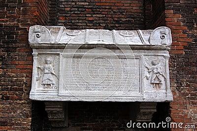 Doge s tomb, Venice