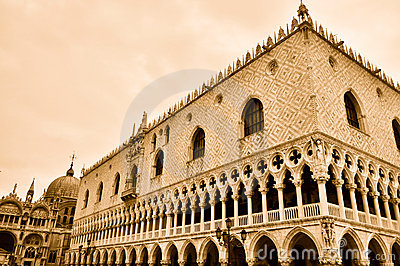 Doges  Palace in Venice