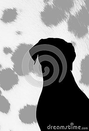 Doggies silhouette.