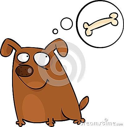Doggy con la bolla di discorso
