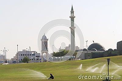 Doha capital city of Qatar