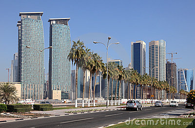 Doha Downtown, Qatar