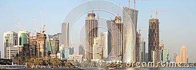 Doha New District, December 2008