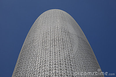 Doha Office Tower, Qatar Stock Image - Image: 23649231