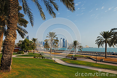 Doha, Qatar: Recreational parks are commonplace in the capital