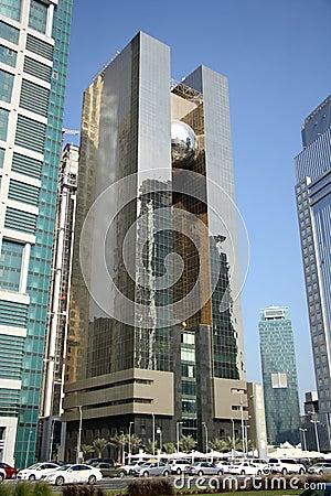 Doha Stock Exchange Editorial Image