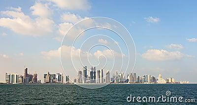 Doha in winter