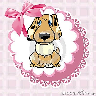 Doily dog