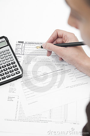 Doing finance Editorial Stock Image