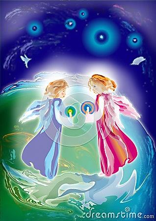 Dois anjos