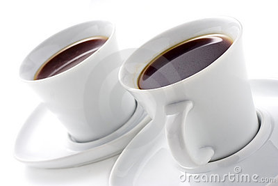 Dois copos de café
