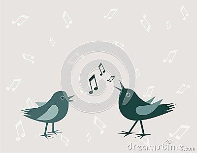 Dois pássaros