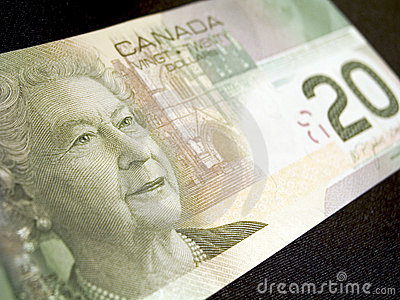 Dolar kanadyjski banknotów 20