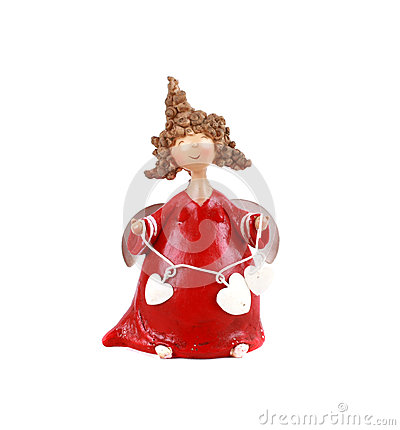 Free Doll Christmas Angel Royalty Free Stock Images - 33004559