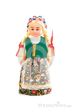 Doll in the Polish national costume