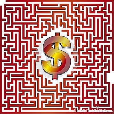 Dollar 3D Maze