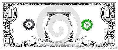 Dollar Bill Vector Illustration Cartoondealer Com 23579828