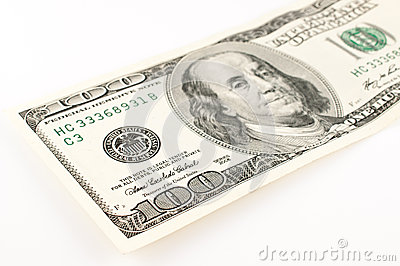100 Dollar Bill Abstract