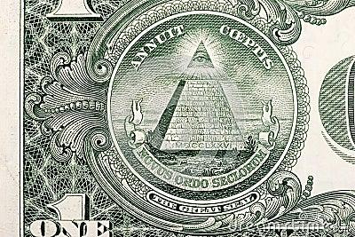 Dollar Bill Pyramid