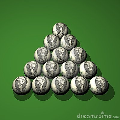 Dollar billiard spheres