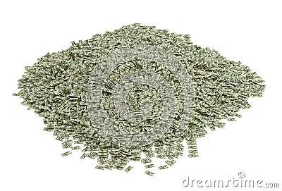 30.000.000$ in 20 dollar bills