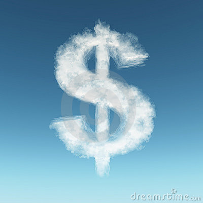 Free Dollar Cloud Stock Photo - 7681920