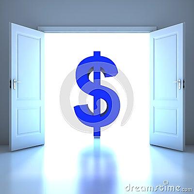 Dollar conceptual in the future