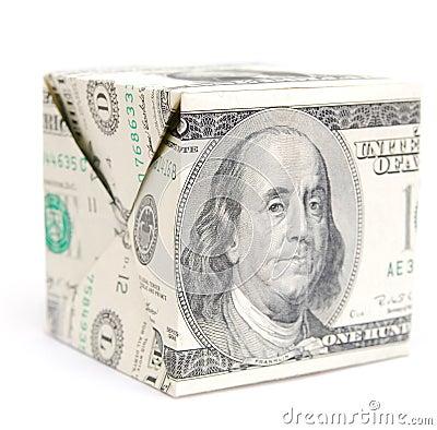 Dollar cube