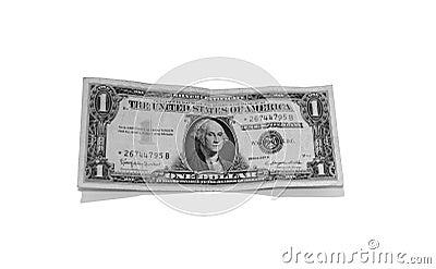 Dollar en argent Bill
