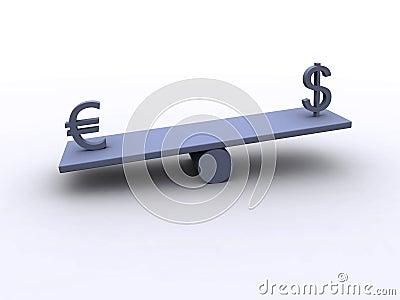 Dollar - Euro - Balance 3