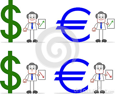 Dollar Euro Values Set