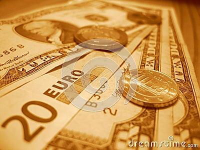 Dollar euros tio tjugo