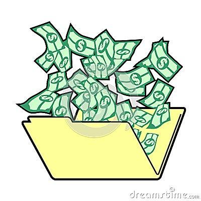 Dollar folder