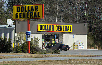 Dollar General Editorial Stock Image
