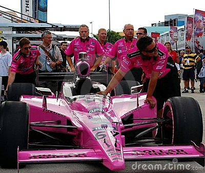 Dollar General Indy Car Editorial Photography