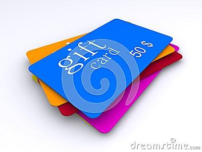 Dollar gift cards