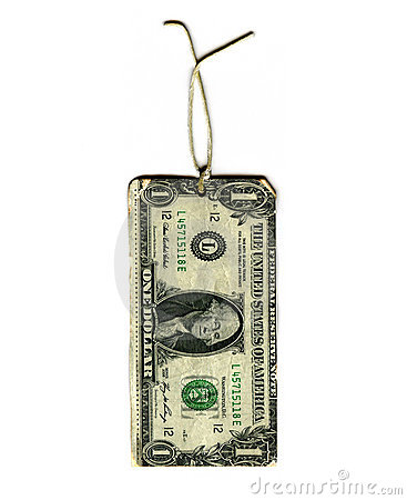 Dollar Gift Tag