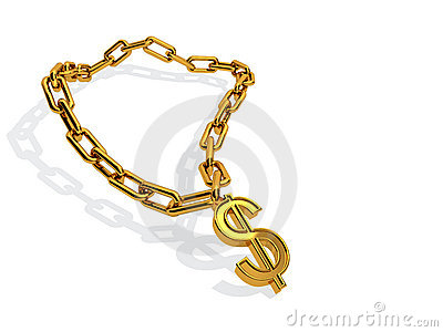 Dollar golden chain