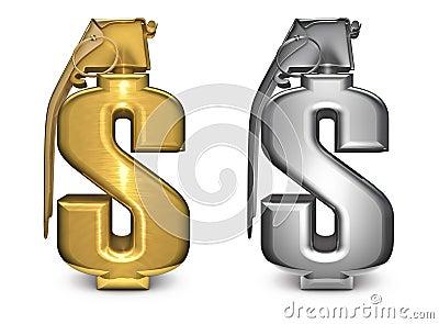 Dollar grenade