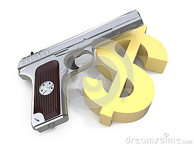 Dollar and a gun