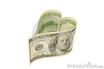 Dollar - heart