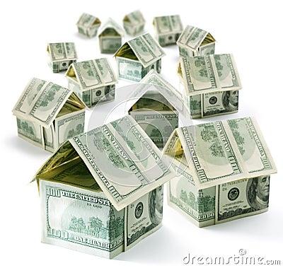 Free Dollar House Stock Image - 13023821