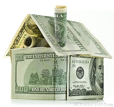 Free Dollar House Royalty Free Stock Photography - 19205397