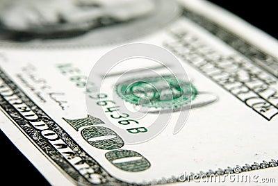 Dollar hundra en