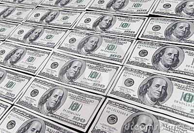 Dollar hundra en oss
