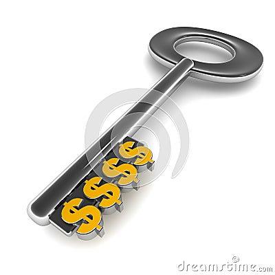 Dollar key