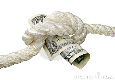Dollar and a knot