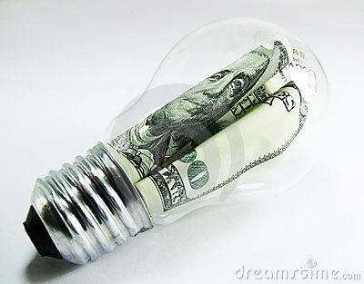 Dollar lamp